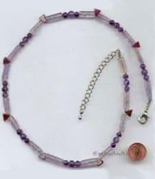 Frauensteine, Edelstein viollet, Kristallklar Farbe