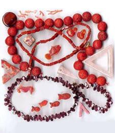 Frauensteine, Edelsteine Rot
