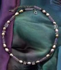 Horoskopsteine Perle, Amethyst, Bergkristall, Granat