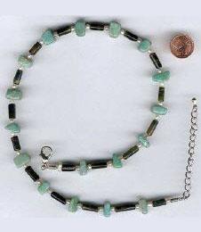Edel Steine Amazonit, Grünes Tigerauge, Perle
