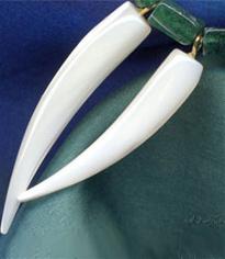 Edelsteine Perle- Perlmutt- Muschel